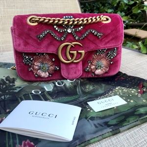 NEW Gucci Limited Edition GG Marmont Crossbody Bag